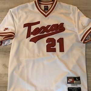 new arrivals 6f13d 6201f Roger Clemens: University of Texas Baseball Jersey